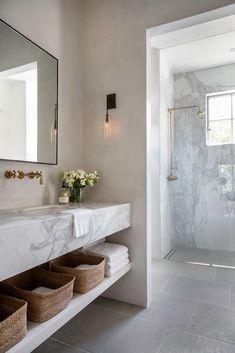 The best interior design trends for 2020 lark & linen Diy Bathroom Decor, Bathroom Interior, Modern Bathroom, Master Bathroom, Bathroom Ideas, Design Bathroom, Colorful Bathroom, Bathroom Marble, Bathroom Trends
