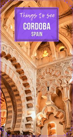 The main attraction of this Andalusian town is first and foremost the Mezquita. Never the less, #CordobaSpain is so charming and quaint that you will just fall in love at first glance. Here is what to see in Cordoba. #Travel  #TravelSpain #TravelAndalusia #SpainThingsToSee #TravelEurope European Travel Tips, European Destination, Travel Europe, Portugal Travel, Spain And Portugal, Cordoba Spain, Spain Travel Guide, Group Travel, Plan Your Trip