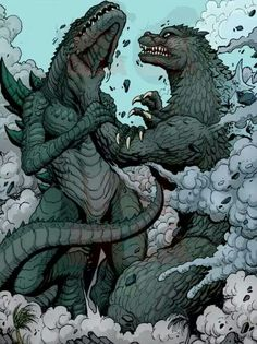 "Godzilla is like: ""You bring Shame on the Kaiju Name."""