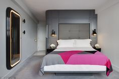The hotel has been designed by interior designer Tom Dixon, whose other projects have included the private members' club Shoreditch House in east London, and the restaurant and bar at the summit of Centre Point