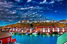 Smögen Village, Sweden