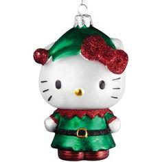 Kurt Adler Hello Kitty Elf Ornament
