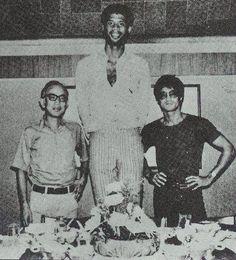 Raymond Chow, Abdul-Jabbar Kareem &  Bruce Lee (Game of Death)