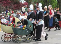 Pella, Iowa Tulip Festival Parade, first weekend in May, 1 hour south and east of Des Moines