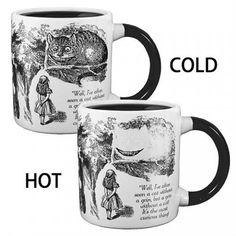 Cheshire Cat Heat Changing Mug - Get It Here---->  http://shutupandtakemymoney.com/iaiv