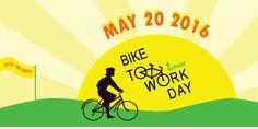 #biketoworkday