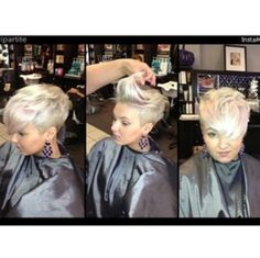 Cut and color at Europa Hair Design