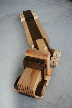Wooden Semi Trailer by rort, via Flickr