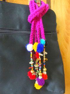 Long Tassel with Metal Bells Cowrie Purse & Handbag Rakhi Design, Beach Crafts, Purses And Handbags, Boho Decor, 1 Piece, Seed Beads, Camel, Tassels, Sewing Projects