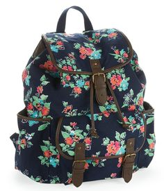 Elephant print cute school girl backpack | Bags | Pinterest ...