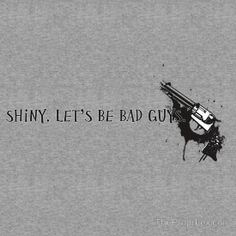 """""""Let's Be Bad Guys."""" T-Shirts & Hoodies by TheProprLexicon 