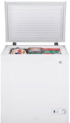 GE FCM5SUWW 5.0 cu. Ft. Chest Freezer - White http://shorl.com/matrajemimofre