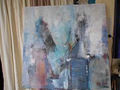 100cms x100cms Acrylic and matt varnished