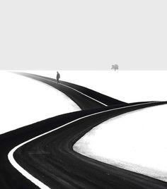 #HosseinZare #art #photography #BlackAndWhite #Landscape