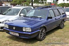 Blue VW Passat B2 Variant | Woerthersee Tour GTI-Treffen 201… | Flickr