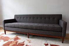 str8mcm: Mid Century Modern Sofa and Club Chair