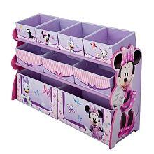 Disney Minnie Mouse - Deluxe Multi Bin Organizer