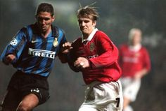 Diego Simeone vs David Beckham 1999