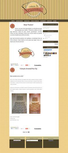 Personalização de Blog de Artesanato - Cantinho do blog Layouts e Templates para Blogger