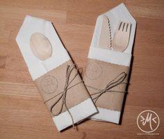 Bestecktasche Falten pin d m auf deko bestecktasche falten
