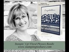Stamping to Share: Floral Boutique Product Suite! Gorgeous Card with Step by Step Video Tutorial!