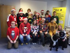 Christmas jumper day!