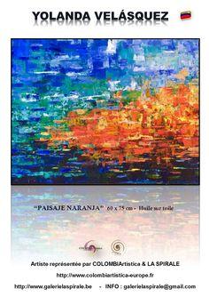 Artist, Orange, Colombia, Oil On Canvas, Artists