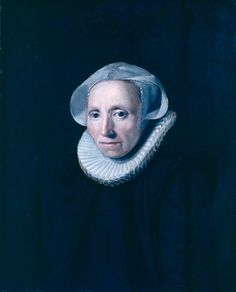Jan Anthonisz van Ravesteyn, portrait of an elderly woman, Museum Bredius, The Hague