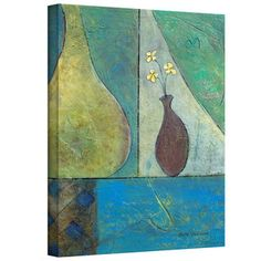 @Overstock.com - Artist: Herb Dickinson Title: Texture Whimsy Product type: Gallery-wrapped canvashttp://www.overstock.com/Home-Garden/Herb-Dickinson-Texture-Whimsy-Gallery-Wrapped-Canvas/7967269/product.html?CID=214117 $50.99