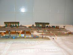 N Scale Buildings, Scenery, Paper, Landscape, Paisajes, Lugares, Nature