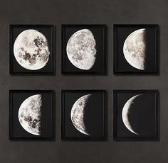 Source for Moon Phase Prints Like These from Restoration Hardware?