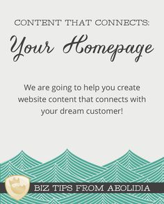 Tips and advice for your website homepage content strategy.