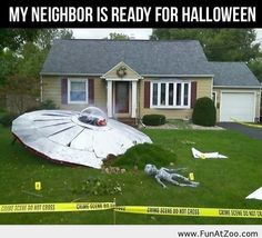 They're ready for Halloween - Funny Picture