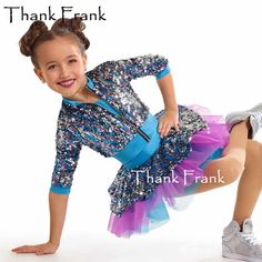 NWT Sequin Vested Clear Strap leotard Dapper Tap Jazz Dance Costume Ch//Ladies sz
