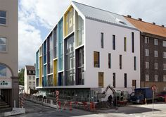 C. F. Møller's Colorful New Copenhagen School Takes A Nod from its Historic Neighbors | Inhabitat - Sustainable Design Innovation, Eco Architecture, Green Building