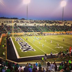 It's fall in Texas, and you know what that means: time to pack Apogee Stadium during another year of Mean Green Game Day! University Of North Texas, Mean Green, Local Music, Watch Football, Alma Mater, Dance The Night Away, Rodeo, Ranch, Fill