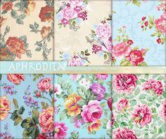 Shabby Victorian Download. Victorian Rose Digital Paper. Digital Scrapbook Decoupage Paper. Floral Digital Backgrounds. Vintage Roses A-28 de AphroditaShop en Etsy https://www.etsy.com/es/listing/220982588/shabby-victorian-download-victorian-rose