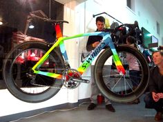 Like many, I first came to know of Garrett Chow through his involvement in MASH, and have since run into him at tradeshows and other events. Bicycle Paint Job, Bicycle Painting, Custom Cycles, Custom Bikes, Road Cycling, Cycling Bikes, Specialized Road Bikes, Bike With Training Wheels, Alpe D Huez