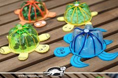 Plastic bottle crafts for kids, preschoolers and adults. Craft project ideas using water and liter bottles. How to make crafts using plastic bottles. Recycle ideas for children. Make flowers, jewelry. 50 Diy Crafts, New Crafts, Recycled Crafts, Creative Crafts, Crafts To Make, Crafts For Kids, Arts And Crafts, Paper Crafts, Recycled Wood