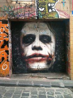 Joker Street Art