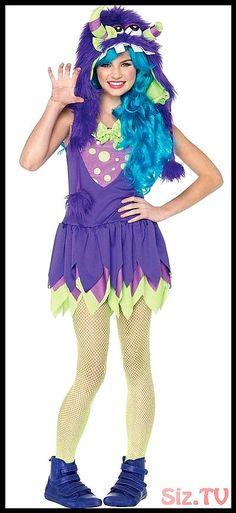 Brand New Strangeling Twilight Witch Girls Tween Costume