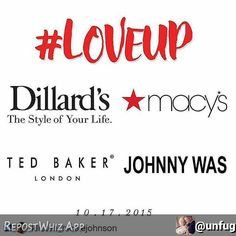 By @unfug via:  Wow!  Look at the Fashion Runway Line Up for our #LoveUp Event on October 17th, Ted Baker, Johnny Was, Macy's, Dillard's and a special showcase of #LoveUp Fashions.  Get your tickets now at www.LoveUpEvent.com!  Tickets are limited, get yours today! #LoveUp #Fashion #Fun #FundraiseforFosterKids #JointheMovent