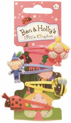 Ben and Holly character hair clips: Amazon.co.uk: Toys & Games