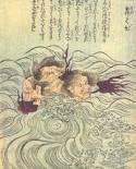 絵本百物語 - 舞首 Monsters, Characters, Japanese, Japanese Language, Figurines, The Beast