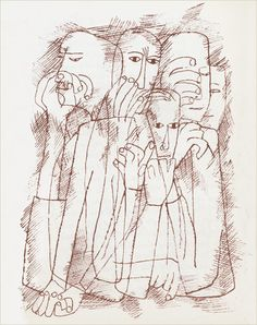 the nonist, now searching recorded history for some semblance of truth. 60s Cartoons, Ben Shahn, Recorded History, Paper Architecture, Smart Set, Picasso Art, Expressive Art, Jewish Art, American Artists