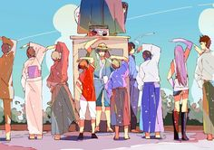 Image about gintama in ɢɪɴᴛᴀᴍᴀ by ad astra on We Heart It Manga Art, Anime Art, Gintama Funny, Gintama Wallpaper, Fanart, Okikagu, Kawaii, Character Design Animation, Cool Sketches