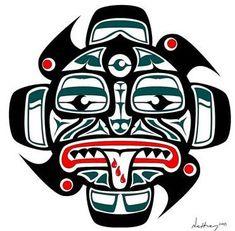 Cherokee Indian Tribal Art   Cherokee Tribal Symbol
