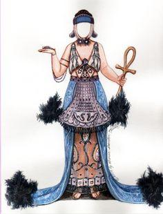 Theda Bara Cleopatra paper doll