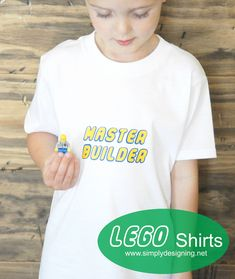 Master Builder Shirt and other cool Lego shirt ideas!