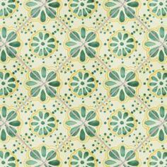Green Lace Talavera Mexican Tile